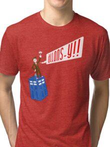 ALLONS-Y!! Deux Tri-blend T-Shirt