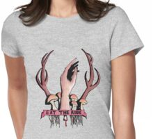 Eat The Rude Hannibal Womens Fitted T-Shirt