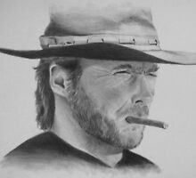 CLINT EASTWOOD by jansimpressions