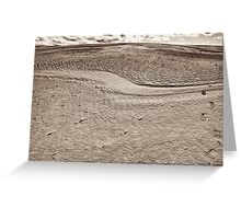 wilsons promontory sands 5 Greeting Card