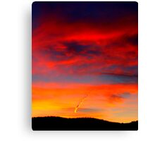 What's in a Contrail? Canvas Print