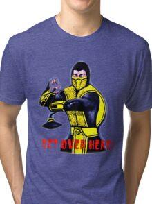 Mortal Kombat Scorpion Tri-blend T-Shirt
