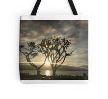 Corel Trees Tote Bag