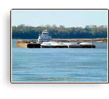 Barge (1) Canvas Print