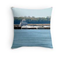 Barge (1) Throw Pillow