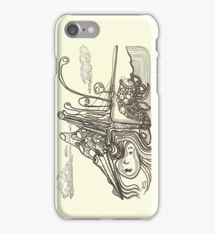 Below Above iPhone Case/Skin