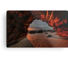 Caves Beach Sunrise. 9-11-13. Metal Print