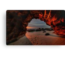 Caves Beach Sunrise. 9-11-13. Canvas Print