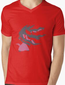 Mega Mawile Mens V-Neck T-Shirt
