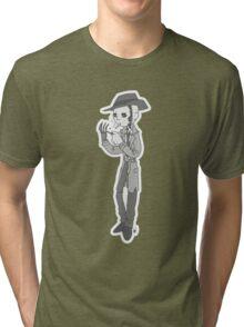 Vintage cartoon Nick Valentine Tri-blend T-Shirt
