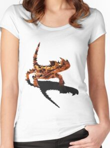 The Desert Devil Women's Fitted Scoop T-Shirt
