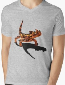 The Desert Devil Mens V-Neck T-Shirt