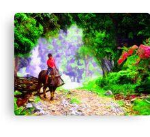 Carabao Rush Hour Canvas Print