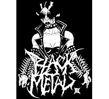 "Black Metal ""Corpse Paint Chick"" Photographic Print"