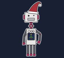 Christmas Robot by samedog