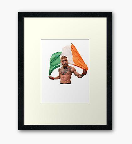 Conor McGregor UFC Fighter Framed Print