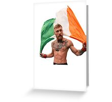 Conor McGregor UFC Fighter Greeting Card