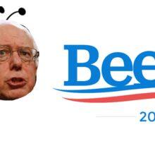 """Bernie Sanders """"Beenie Sanders"""" SAVE THE BEES Sticker"""