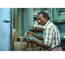 Chai in Madurai  Photographic Print