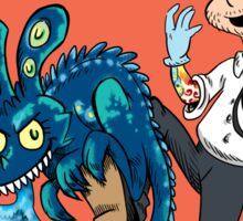 Kaiju on my Shoe! Sticker