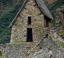 The Gate House of Machu Picchu by Edith Reynolds