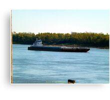 Barge (6) Canvas Print