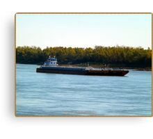 Barge (7) Canvas Print