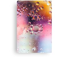 Abstract Art- Oil and Water Canvas Print