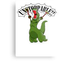Unstoppable T-Rex Metal Print
