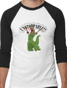 Unstoppable T-Rex Men's Baseball ¾ T-Shirt