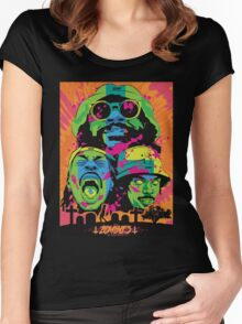 Flatbush Zombies Chemetry Trio Arc Darco mecky Women's Fitted Scoop T-Shirt