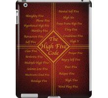 The High Five Code iPad Case/Skin