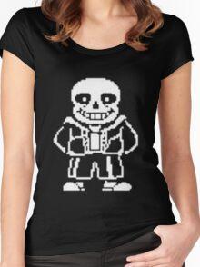 Sans Design Undertale Women's Fitted Scoop T-Shirt