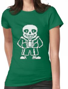 Sans Design Undertale Womens Fitted T-Shirt