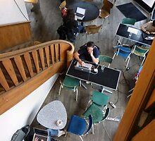 Berlin Coffee Shop by SoulSparrow