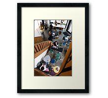 Berlin Coffee Shop Framed Print