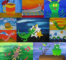 bugs collage by cathyjacobs