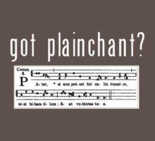 got plainchant? Kids Clothes