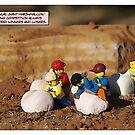 Marshmallow Race by Bean Strangeways