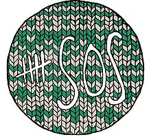 5SOS knit logo by bryandraws
