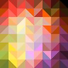 background of geometric squares by OlgaBerlet