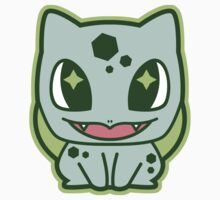 Chibi Bulbasaur by DisfiguredStick