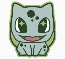 Chibi Bulbasaur by DisfiguredStick