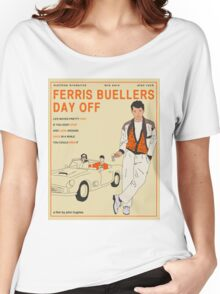 Ferris Buellers Day Off Women's Relaxed Fit T-Shirt
