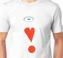 I Heart Red Bubble(Show support) Unisex T-Shirt