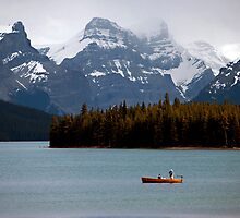 Maligne Lake by Stephanie Johnson