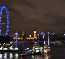 London by Night by jessiejoe