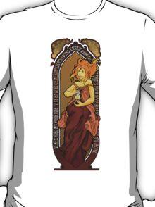 Adventure Time Art Nouveau-Flame Princess T-Shirt
