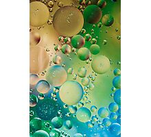 Abstract Art- Oil and Water Photographic Print