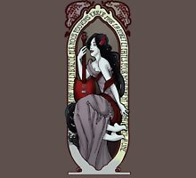 Adventure Time Art Nouveau-Marceline Womens Fitted T-Shirt